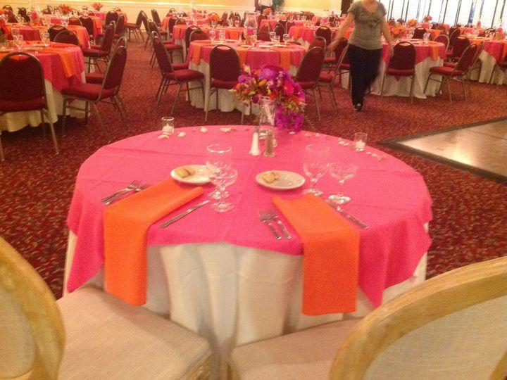 Tmx 1379782175081 Pinkorangewedding1 Blue Bell wedding catering