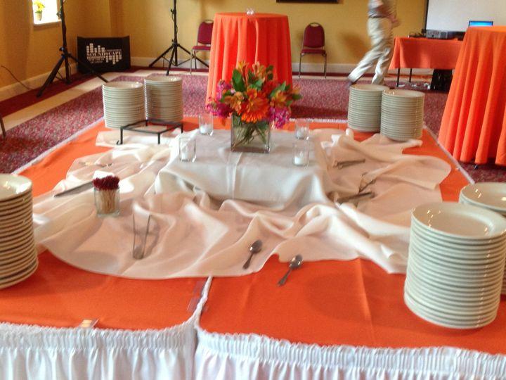 Tmx 1379782260101 Pinkorangewedding7 Blue Bell wedding catering