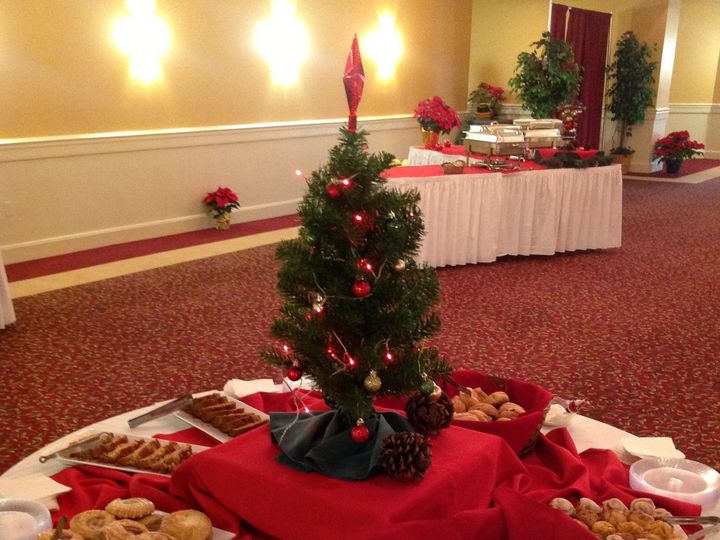 Tmx 1379782341145 Redholiday4 Blue Bell wedding catering