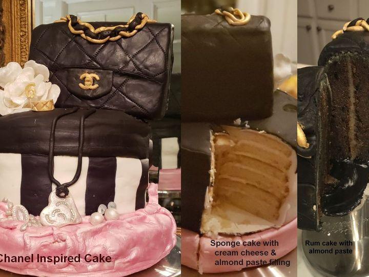 Tmx Cake Chanel 51 1938879 159771638331418 Glen Oaks, NY wedding dress