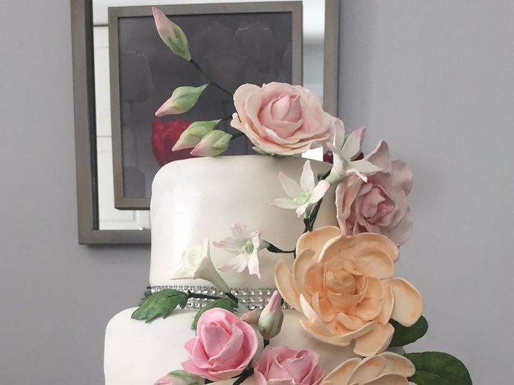 Tmx Cake Wedding 51 1938879 159771638320209 Glen Oaks, NY wedding dress