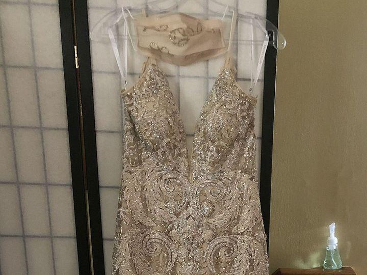 Tmx Dress Mask 51 1938879 159771638519750 Glen Oaks, NY wedding dress