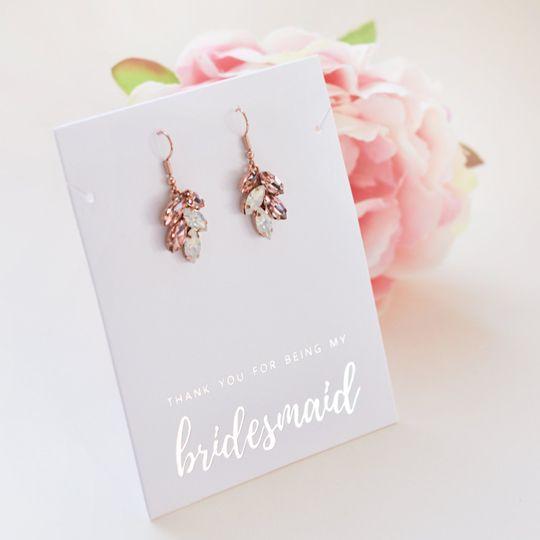 Rose Gold Earrings JE-4159-RG