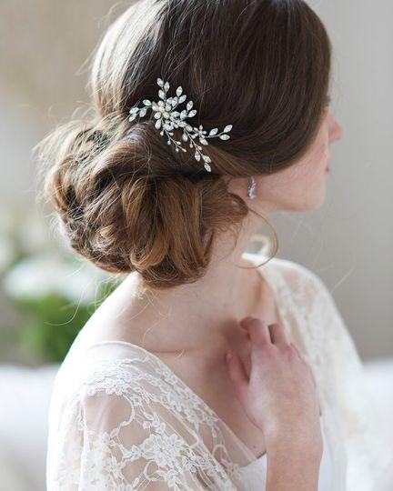 Lillian Wedding Comb  TC-2421-