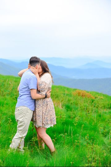 Cynthia Viola Photography, roan mountain engagement, lgbtq engagement,