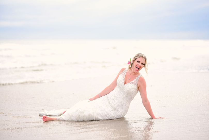 Cynthia Viola Photography, Trash the Dress, Beach Wedding, Vilano Beach Fl,