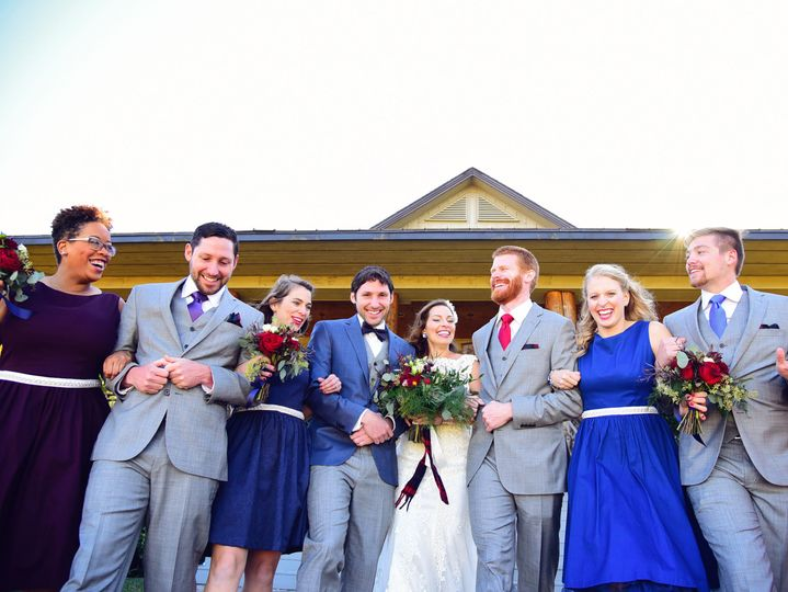 Cynthia Viola Photography, wedding party, Mountain Wedding