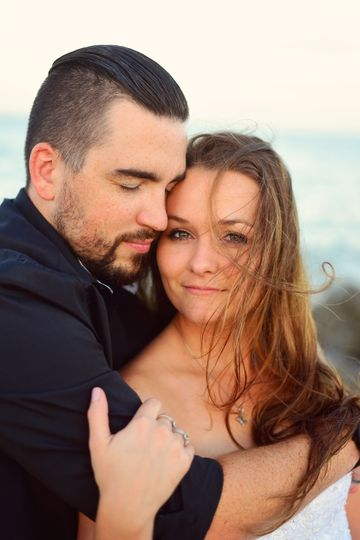 Cynthia Viola Photography, beach wedding, trash the dress, vilano beach fl