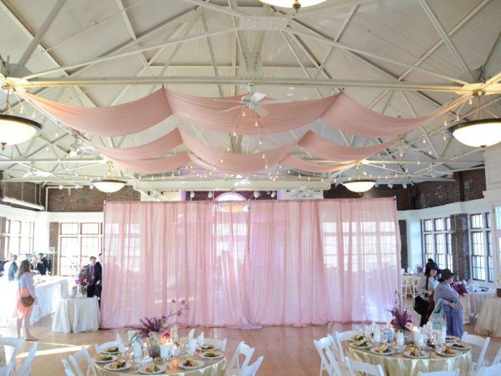 Tmx 1443323049594 Prospectparkpicnichouse Drapes Stringlights April6 New York wedding rental