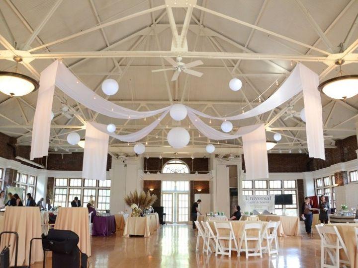Tmx 1443323055671 Prospectparkpicnichouse Lanternsdrapesstring7167 New York wedding rental