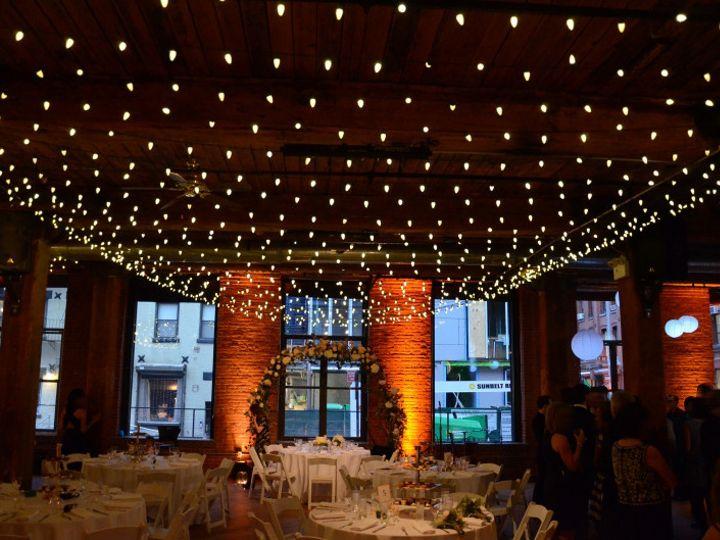 Tmx 1443323128705 Thedumboloft Stringlights Uplights November1201471 New York wedding rental