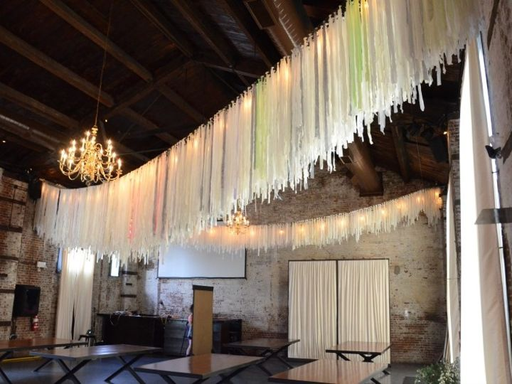 Tmx 1443323333663 Thegreenbuilding Stringlights Colorcondition May16 New York wedding rental