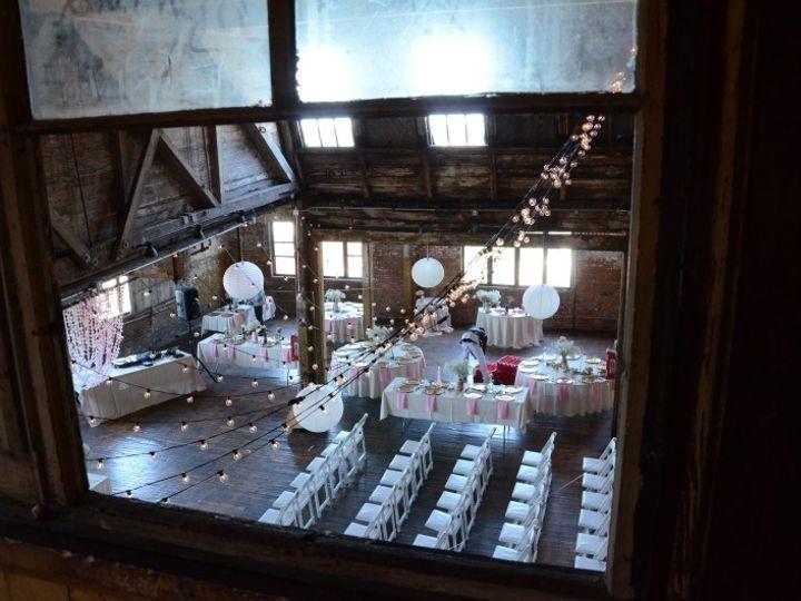 Tmx 1443323370715 Thegreenpointloft Stringlights Lanterns May 23 201 New York wedding rental