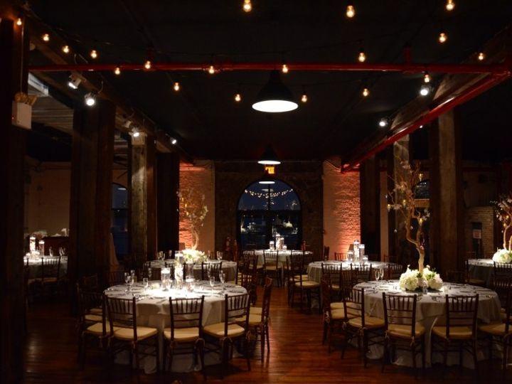 Tmx 1443323461600 Thelibertywarehouse Pinspotsamberuplights Nov82014 New York wedding rental