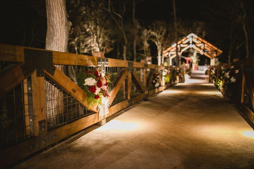 Ceremony walkway