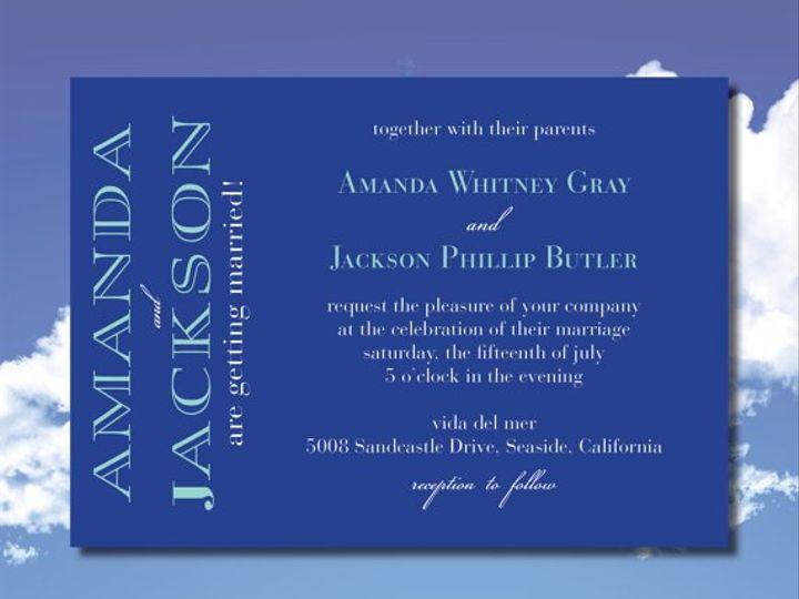 Tmx 1364407799743 Bluesuite Fresno wedding invitation