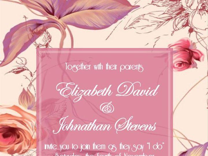 Tmx 1364407805463 Floralmauveinvite Fresno wedding invitation