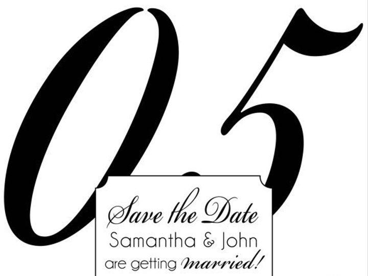 Tmx 1364407815311 Largenumbersavethedate Fresno wedding invitation