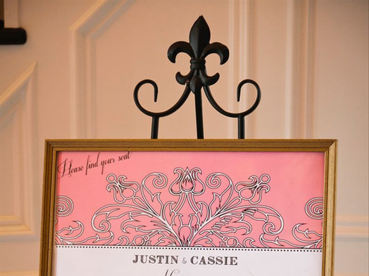 Tmx 1370371628353 Seating Chart Pink Fresno wedding invitation