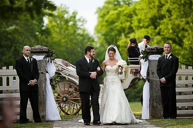 nashville wedding couple myrick