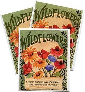 Favor Sized Wildflower Mix Packet
