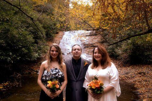helton creek falls waterfall weddings04