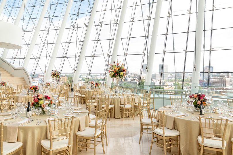 Gorgeous glass atrium