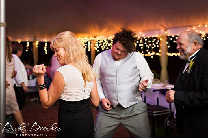 Guests dancing - Becky Brockie Photography