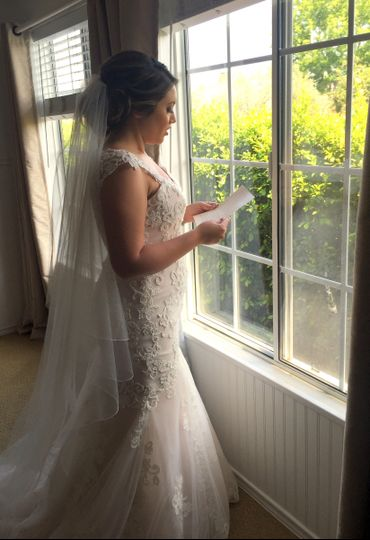 Reviewing her Vows.