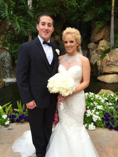 Beautiful Bride and Happy Groom!