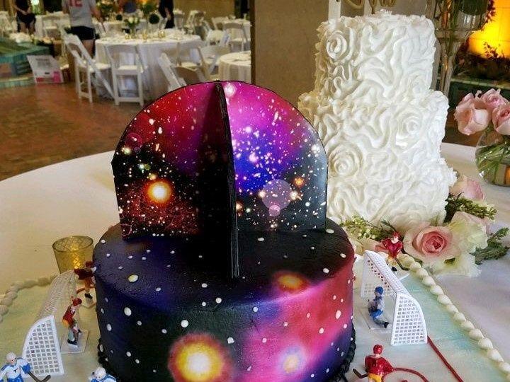 Tmx 1514965674881 Img47086639 Papillion wedding cake