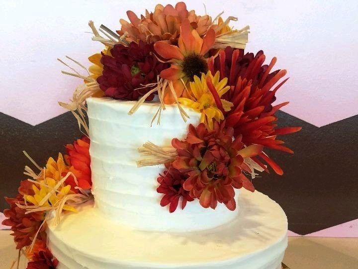 Tmx 1514965701672 Img587993492 Papillion wedding cake