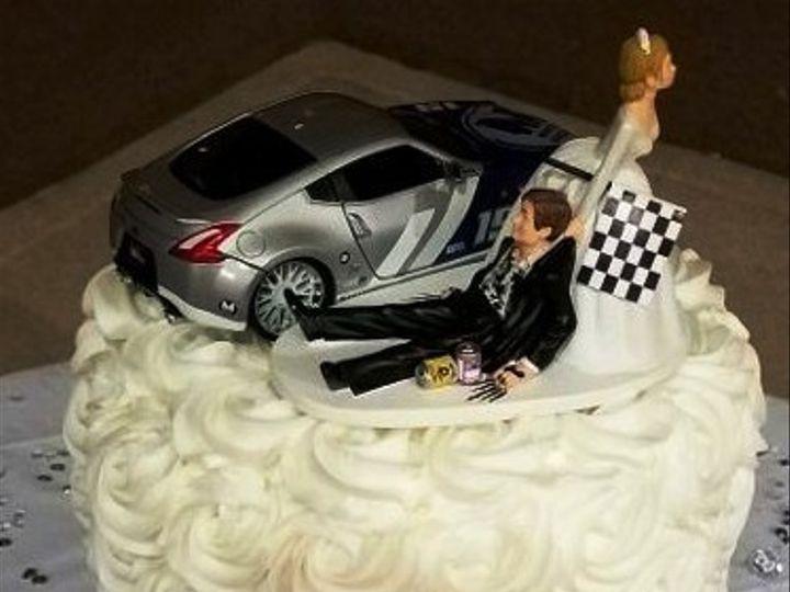 Tmx 1514965716336 Img716544372 Papillion wedding cake