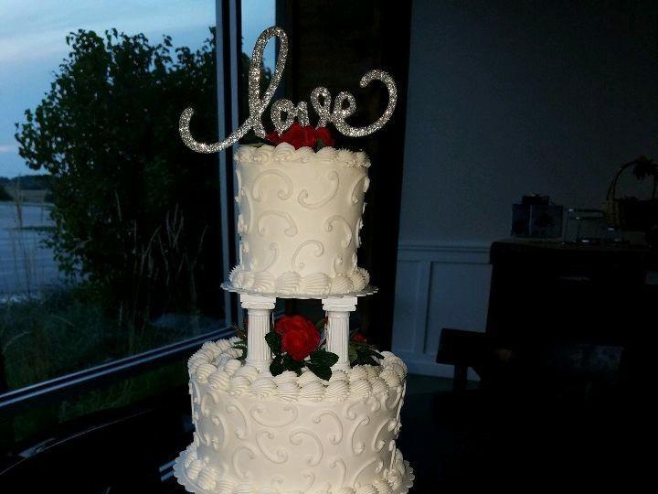 Tmx 1514965753140 Img1548305404 Papillion wedding cake