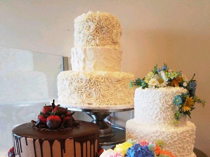 Tmx 1514965774773 Img1663869796 Papillion wedding cake