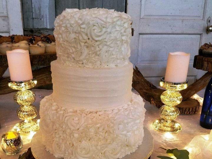 Tmx 1514965797702 Img1793315812 Papillion wedding cake