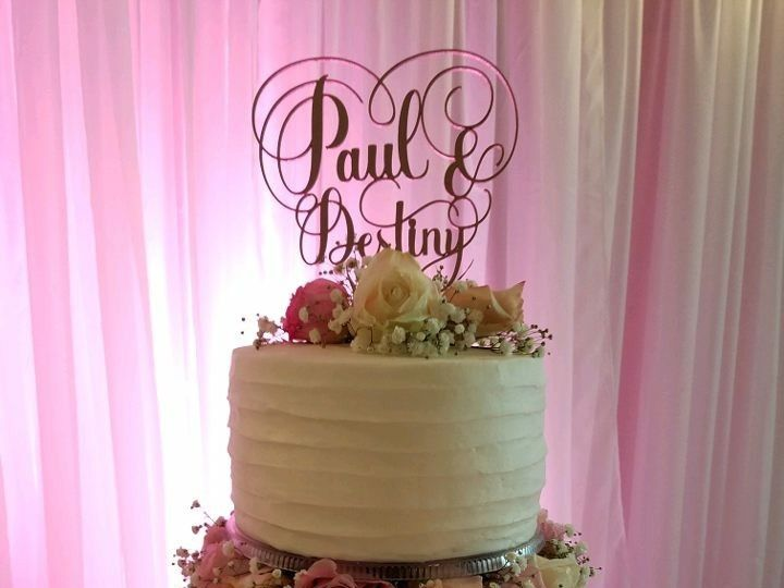 Tmx 1514965817389 Img1929871353 Papillion wedding cake