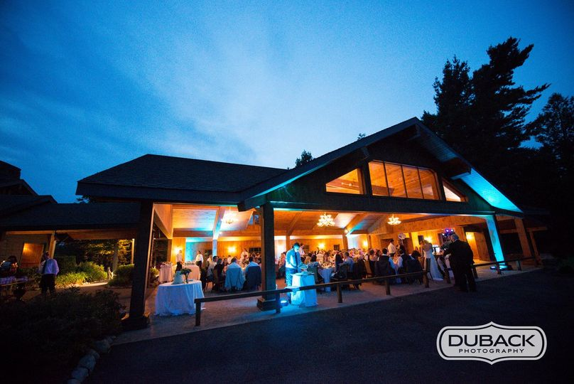 Dinner and Dancing in the Pavilion - Andy Duback Photography