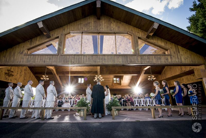 Ceremony in the Pavilion - Tom Semeraro Photography