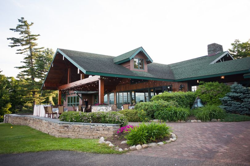 Lake Placid Club Golf House Porch, Paul Reynolds Photography