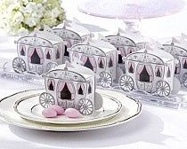"""Enchanted Carriage"" Wedding Favor Box is perfect for your Fairy Tale Wedding. Fill with delectable..."
