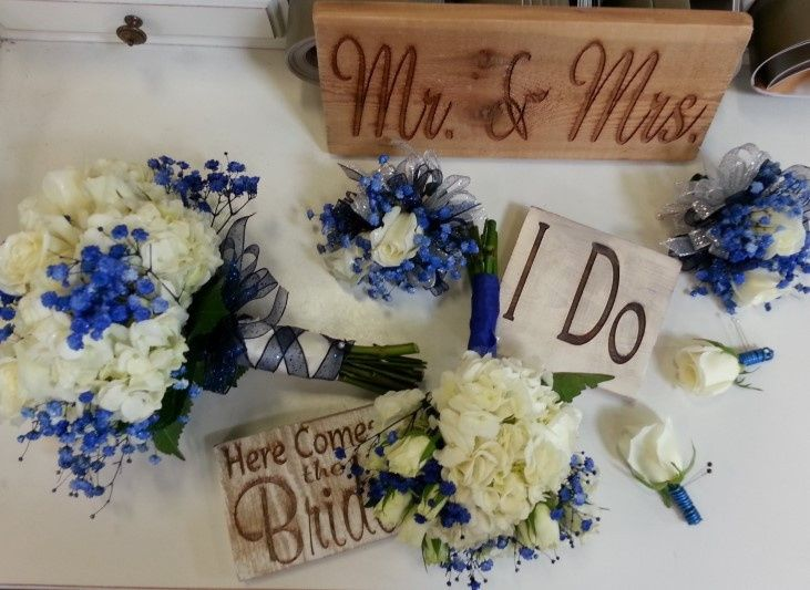 Signs for each individual wedding!