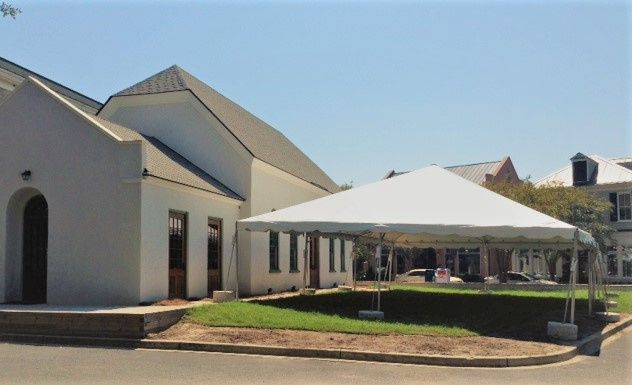 Ion Chapel with Large Tent