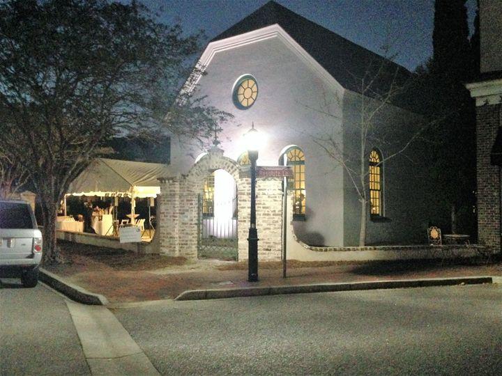 Tmx 1516832734 046c9ef0e31c2b8f 1516832732 8b89fa950959cb36 1516832722750 1 Exterior Lighting Mount Pleasant, SC wedding venue