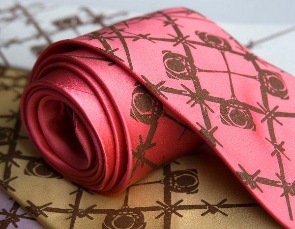 Wingman silk tie.