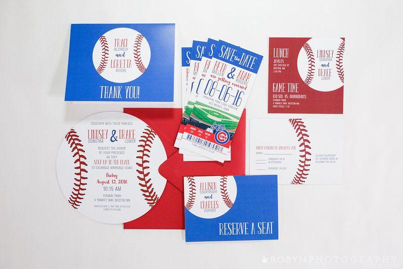 Baseball Wedding Suite