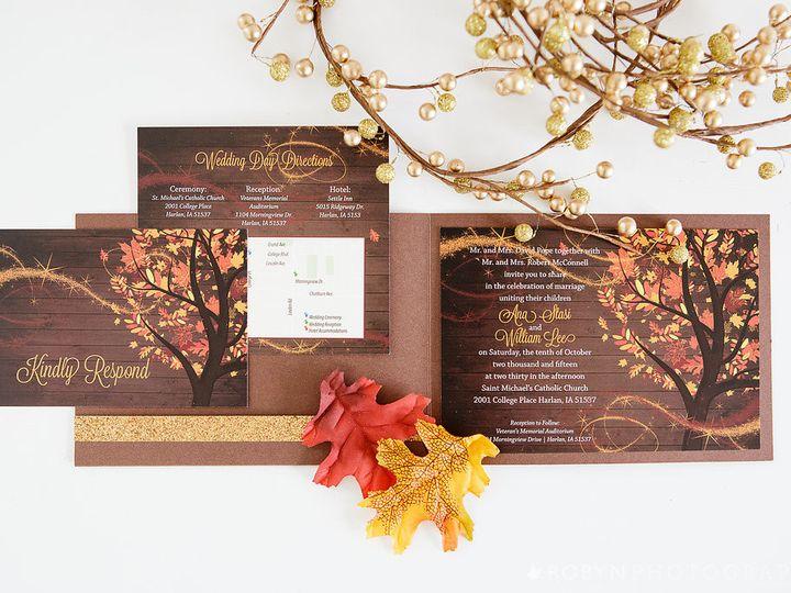 Tmx 1457204010343 72comemkuceradesign Cedar Rapids, Iowa wedding invitation