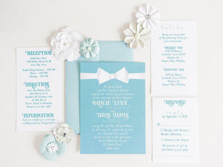 Tmx 1457204040820 94comemkuceradesign Cedar Rapids, Iowa wedding invitation