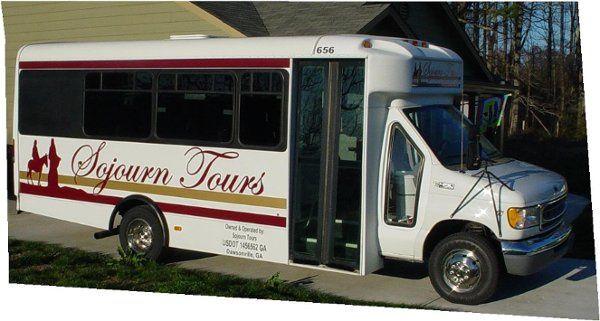Sojourn Tours & Limousine's 17 passenger mini-bus