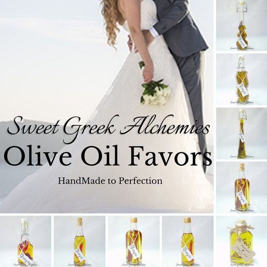Olive Oil Favors, Handmade to Perfection & Customer Satisfaction